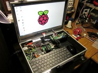 Portable Raspberry Pi Electronics